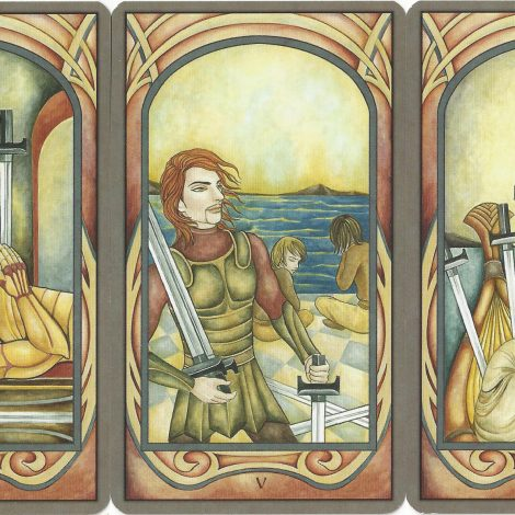 Tarot Suit of Swords in Love Readings