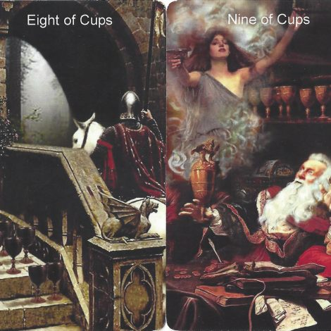Tarot Suit of Cups in Love Readings