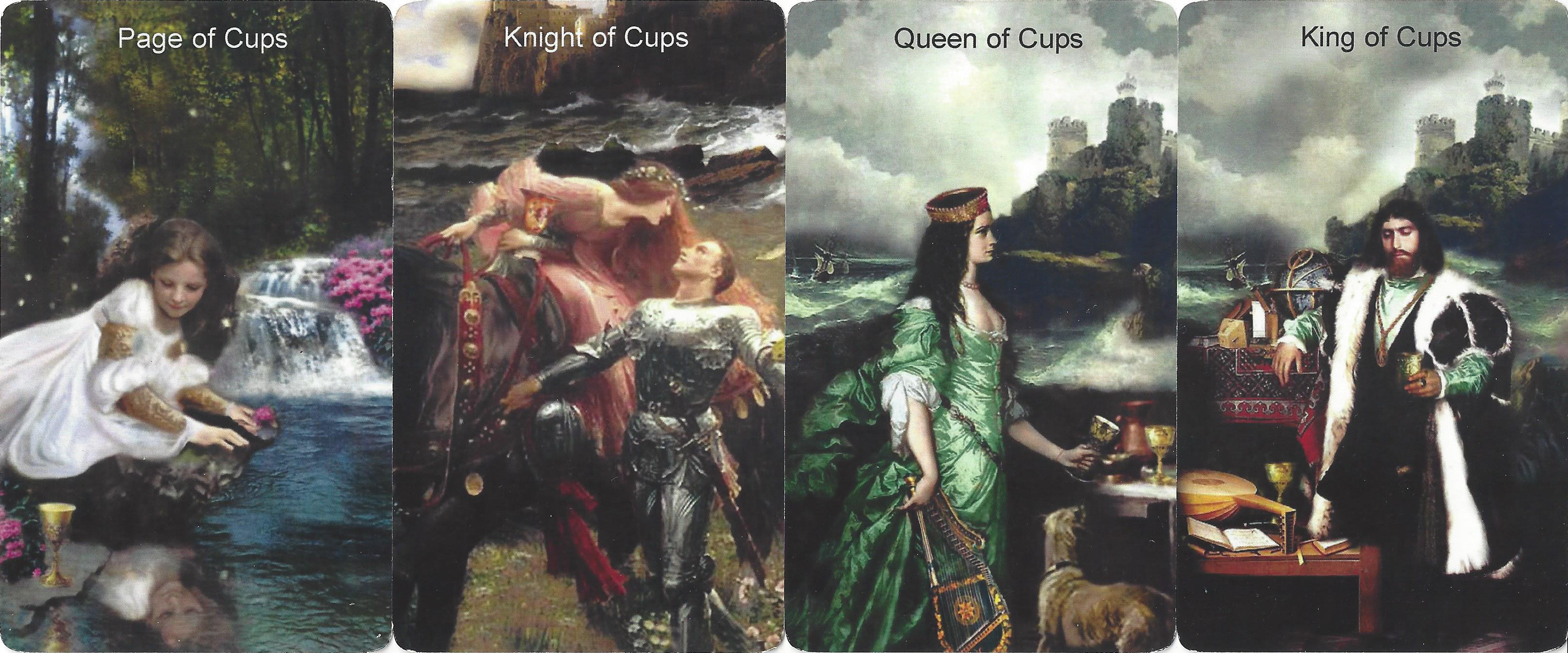 Tarot Suit of Cups in Love Readings - Tarot in Love