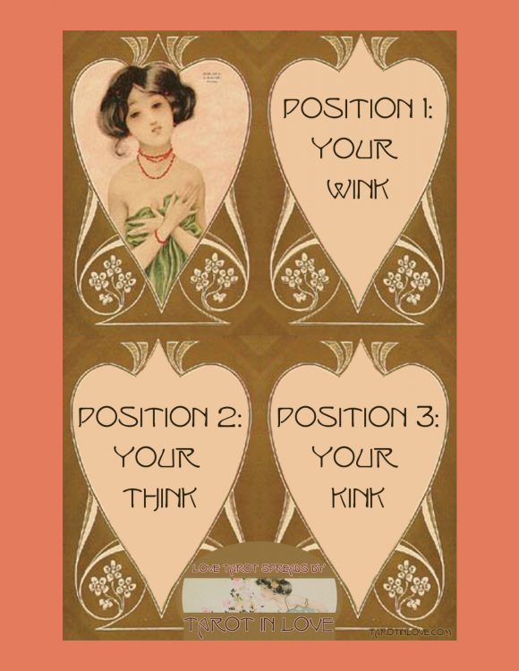 Your Wink: Love Tarot Spread - Tarot in Love