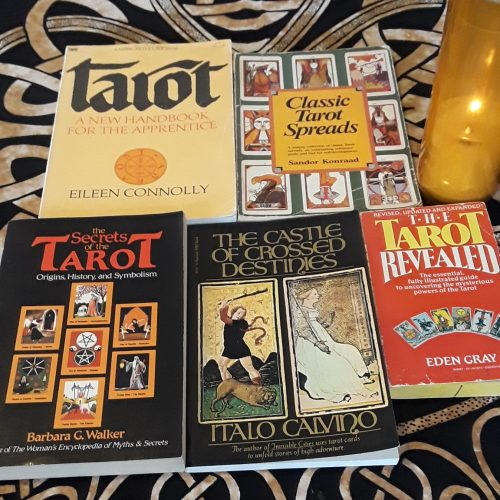 Five tarot books to help you love learning tarot