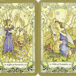 Tarot Suit of Pentacles in Love Readings