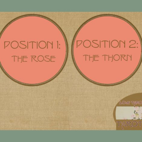 Rose and Snail Love Tarot Spread Banner image
